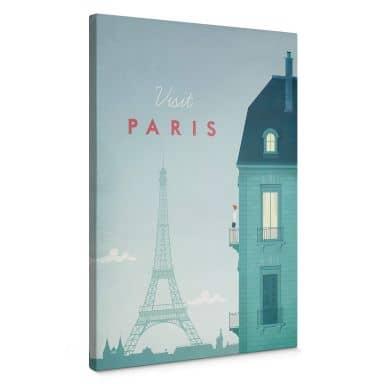Leinwandbild Rivers - Paris