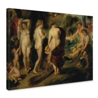 Peter Paul Rubens - The Judgement of Paris Canvas print