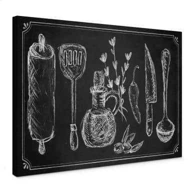 Rustic Kitchen Canvas print
