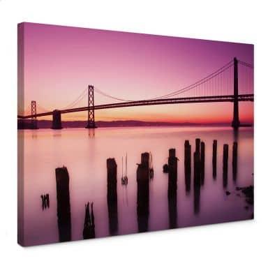 Leinwandbild San Francisco Bay