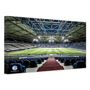 Leinwandbild - Schalke 04 - Arena Tribüne