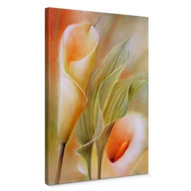 Canvas Print Schmucker - Callas