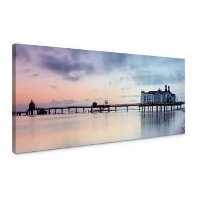 Bridge in Sellin Canvas print