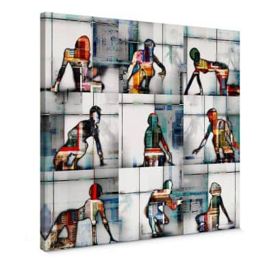 Canvas Print Shrayer - Body Language 56