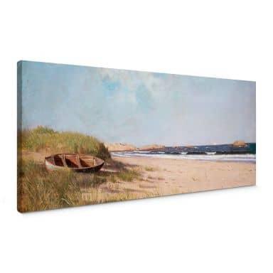 Tableau sur toile Silva - Sur la plage - Panorama