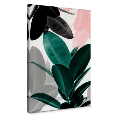 Canvas Print Sisi & Seb - Floral Games