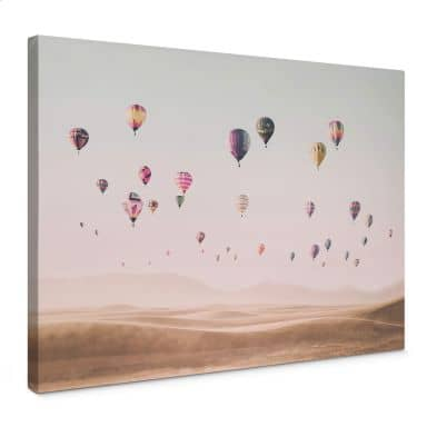 Canvas Sisi & Seb - Hot Air Balloons