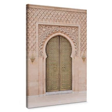 Leinwandbild Sisi & Seb - Moroccan Door