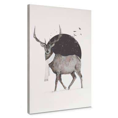 Canvas Solti - Deer Winter
