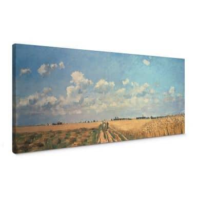 Canvas Camille Pissarro - Zomer