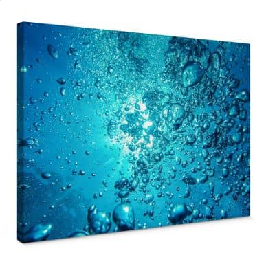 Canvas Print Sound of the ocean