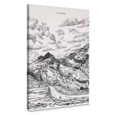 Leinwandbild Sparshott - Col du Glandon
