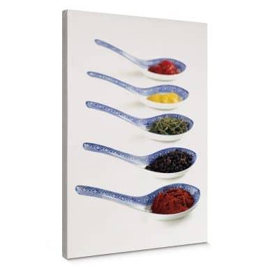 Leinwandbild Spices
