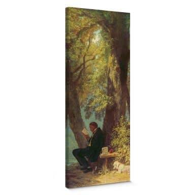 Tableau sur toile Spitzweg - La place favorite