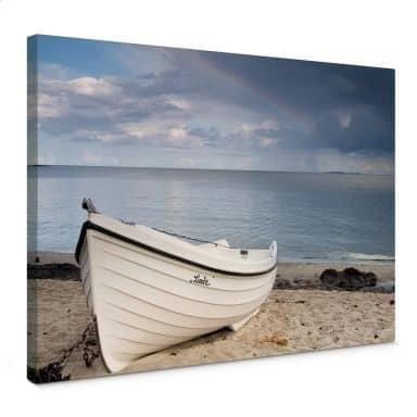 Beach Idyll Canvas print