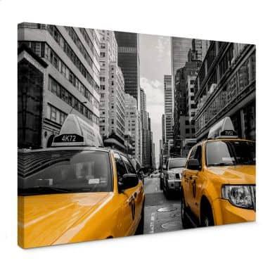 Leinwandbild Streets in New York City