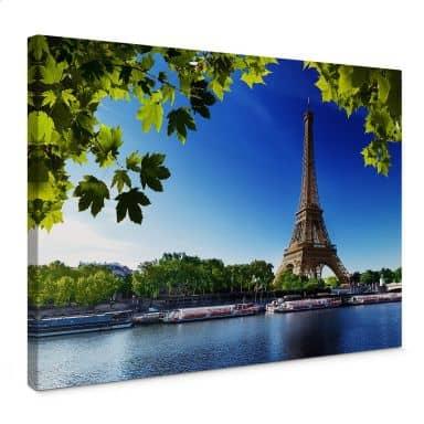Leinwandbild Summer in Paris