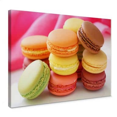 Canvas Macarons