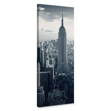 The Empire State Building Panorama Canvas print