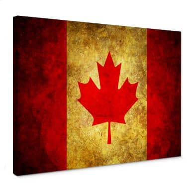 The Maple Leaf Canvas print