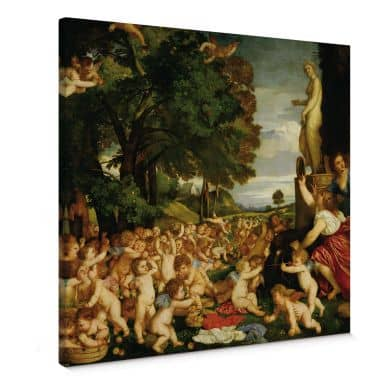 Tizian - Venus Canas print