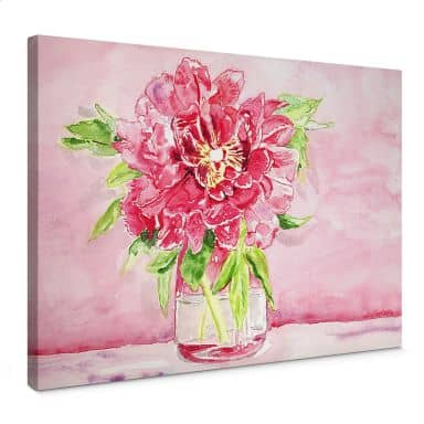 Leinwand Toetzke - Bouquet for Mavis