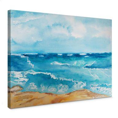Tableau sur toile Toetzke - Bruit de la mer