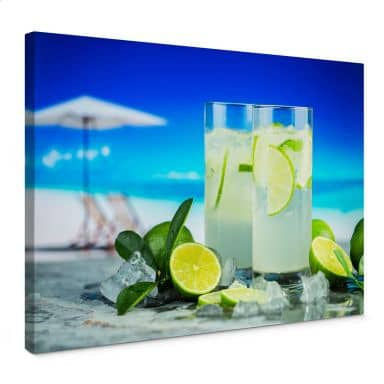 Leinwandbild Tropical Lime