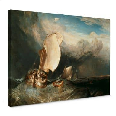 Leinwandbild Turner - Fischerboote