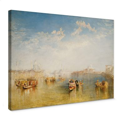 Turner - Giudecca, La Donna Della Salute and San Giorgio  Canvas print