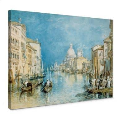 Leinwandbild Turner - Venedig, Canale Grande