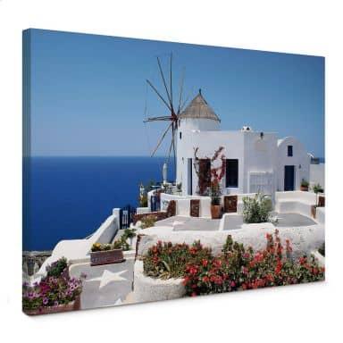 Stampa su tela - Vacanze in Grecia