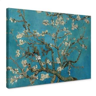 Tableau sur toile van Gogh - Amandier en fleurs