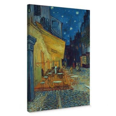 Vincent van Gogh - Café Terrace at Night Canvas print