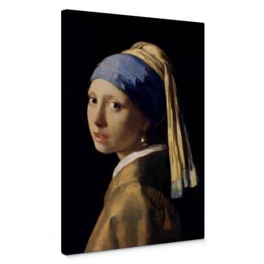 Vermeer - The Girl with a Pearl Earring Canvas print