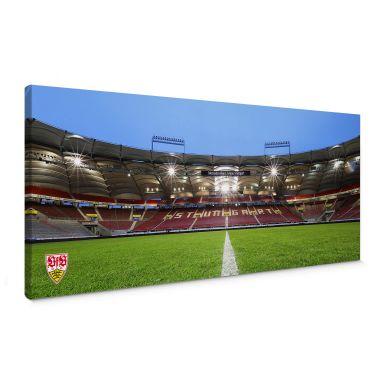 Leinwandbild VfB Stuttgart Arena Tribüne - Panorama