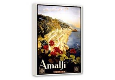 Leinwand Vintage Travel - Amalfi