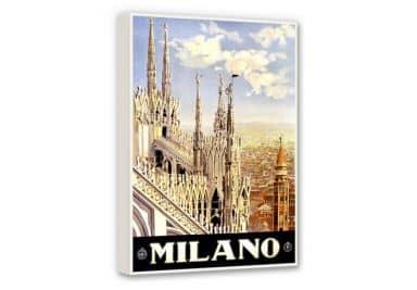 Leinwand Vintage Travel - Milano