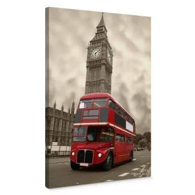 Visit London Canvas print