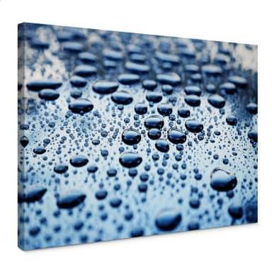 Leinwandbild Waterdrops