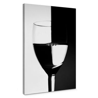 Canvas Wijnglazen