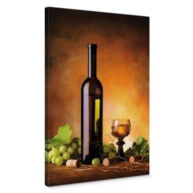 Canvas Witte Wijn