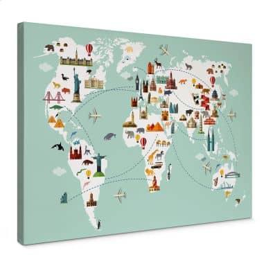 Canvas Travel the World