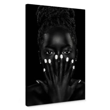 Wuttke - Black and White 02 Canvas print