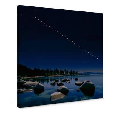 Leinwandbild Zhu - Mondphasen