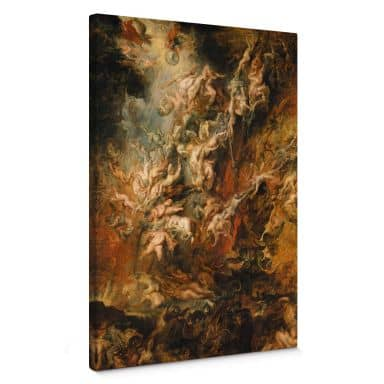 Peter Paul Rubens The Fall of the Damned Canvas print