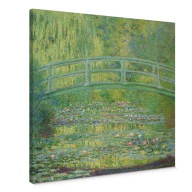 Monet - Lily Pond Bridge Canvas print
