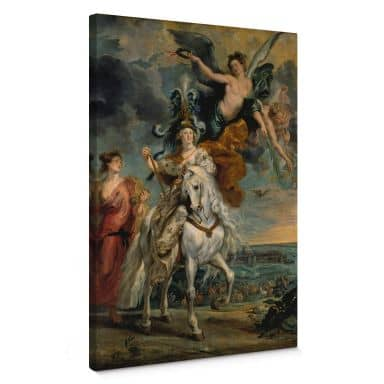 Peter Paul Rubens Taking Julich Canvas print