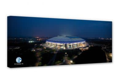 Leinwandbild Schalke Arena - Panorama
