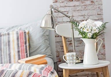 Livingwalls Dekorationspanel pop.up 3D Beige, Brun, Råhvid
